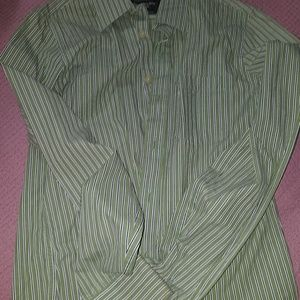 Muscle button down shirt